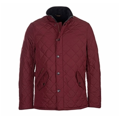 Autumn 2018 Barbour Men's Powell Quilt - Bordeaux