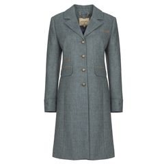 Autumn 2018 Dubarry of Ireland Blackthorn Tweed Coat - Mist