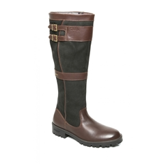 Autumn 2018 Dubarry of Ireland Longford Leather Boot - Black/Brown