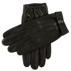 Dents James Bond Spectre Leather Driving Gloves - Black