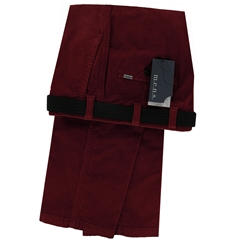 m.e.n.s. Luxury Cotton Corduroy Trouser - Ruby Red