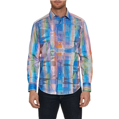 Robert Graham Shirt Wallner - HALF PRICE - Size Large Only