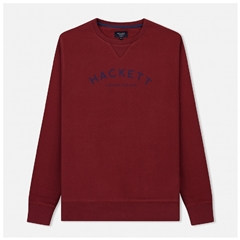 Autumn 2018 Hackett of London 'Mr Classic' Crew-Neck Sweater - Crimson