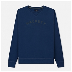 Autumn 2018 Hackett of London 'Mr Classic' Crew-Neck Sweater - Navy