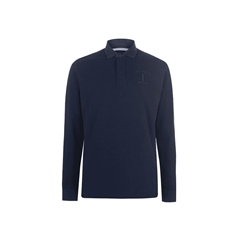 Hackett of London 'Mr Classic' Rugby Shirt - Navy - Size 3XL Only