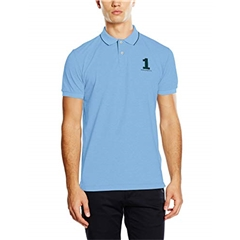 Autumn 2018 Hackett of London Polo-Shirt - Light Blue