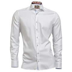 Autumn 2018 Giordano Shirt - White Twill