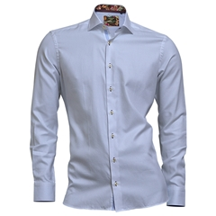 Autumn 2018 Giordano Shirt - Sky Blue