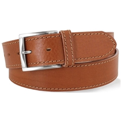 Tan Leather Jeans  Belt by Robert Charles