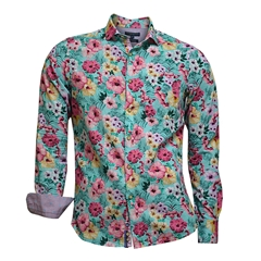 Colours & Sons Tropical Flowers Shirt