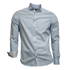 Colours & Sons Light Blue Stars Shirt