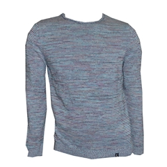 Colours & Sons Mouline Sweater - Blue and Purple