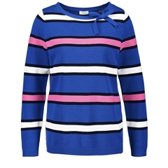 Gerry Weber Striped Jumper - Blue