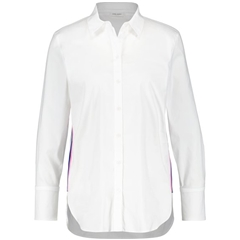 Gerry Weber Long Contrast Shirt - White
