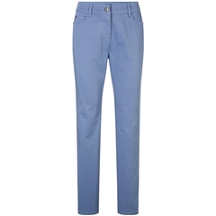 Olsen Mona Slim Trousers - Blue Water