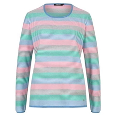 Olsen Stripe Sweater - Multi