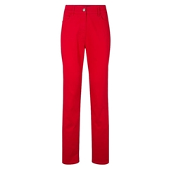 Olsen Slim Fit Cotton Jeans - Red
