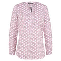 Olsen Printed Blouse - Rose