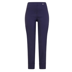 Robell Trousers - Bella Ankle-Length Trouser - Dark Denim