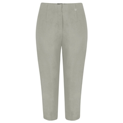 Robell Trousers - Marie Cropped Trouser - Taupe