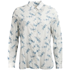 Spring 2019 Barbour Women's Shirt - Bowfell - White Dragonfly