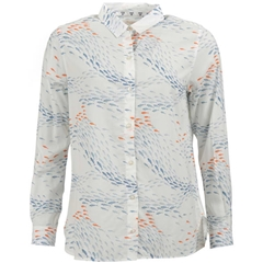 Spring 2019 Barbour Women's Shirt - Pebble - Off White