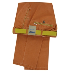 New 2019 Meyer Summer Cotton Trouser - Mandarin - New York 5001 46