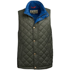Spring 2019 Barbour Men's Quilted Gilet - Ampleforth - Olive