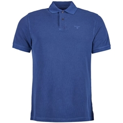 Spring 2019 Barbour Men's Washed Sports Polo-Shirt - Navy