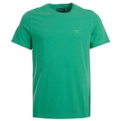 Spring 2019 Barbour Men's Garment Dyed T-Shirt - Bright Green