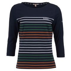 New 2019 Barbour Women's Top - Littlehampton - Navy