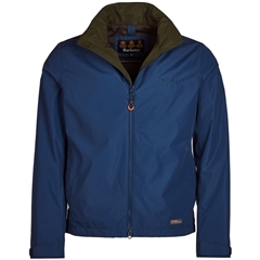New 2019 Barbour Men's Lightweight Waterproof Jacket - Rye - Peacock Blue