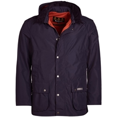 New 2019 Barbour Men's Waterproof Jacket - Arlington - Navy