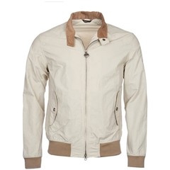 Spring 2019 Barbour International Men's Steve McQueen Harrington Jacket - Rectifier - Fog