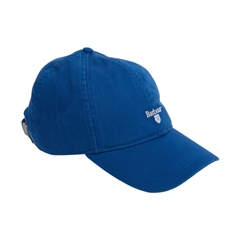 New 2019 Barbour Men's Cotton Sports Cap - Cascade - True Blue