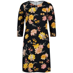 Betty Barclay - Floral Dress - Navy