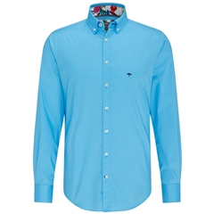 Fynch Hatton Shirt - Crystal Blue