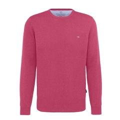 Spring 2019 Fynch Hatton Superfine Cotton Crew Neck Sweater - Azalea Pink