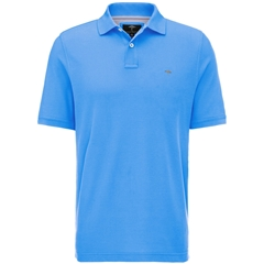 Spring 2019 Fynch Hatton Cotton Polo Shirt - Spring Blue