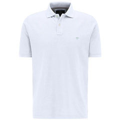 Fynch Hatton Cotton Polo Shirt - Black