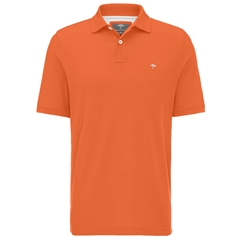 Spring 2019 Fynch Hatton Cotton Polo Shirt - Apricot Orange