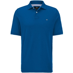 Spring 2019 Fynch Hatton Cotton Polo Shirt - Royal Blue