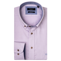 New 2019 Giordano Shirt - Pink Weave