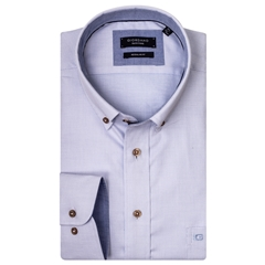 New 2019 Giordano Shirt - Blue Weave