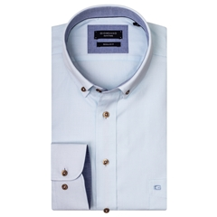 New 2019 Giordano Shirt - Mint Weave