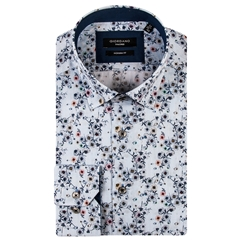 New 2019 Giordano Shirt - Neat Flowers