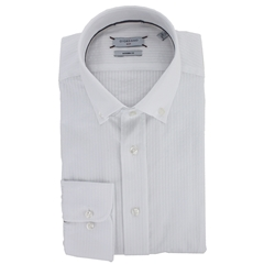Giordano Shirt - White Candy Stripe
