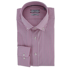 New 2019 Giordano Shirt - Pink Candy Stripe