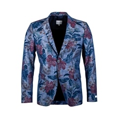 Giordano Jacket - Abstract Flowers