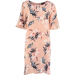 Pomodoro Botanical Print Dress - Blush